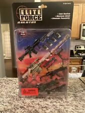 Rare 1:8 Ultimate Soldier Elite Force Assault Modern Gear Weapons new