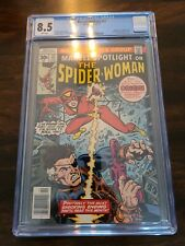 Marvel Spotlight 32 cgc 8.5 1st Spider Woman PRICED TO SELL!!