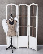 Trennwand Paravent Holz Shabby Chic Sichtschutz Raumteiler Umkleide Landhausstil