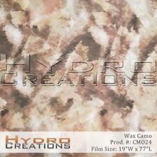 Hydrographic Film Wax Camo 19 Square Meter Roll
