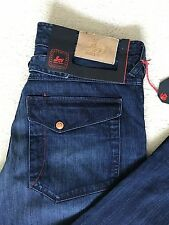 """Paul Smith Jeans """" ROSSO EARRINGS """" SPLENDIDO BLU COTONE & Lino 32R """" W 33 """" L"""
