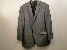 New Peter Millar Men Traditional Wool Silk Blend Sport Coat /Brown Combo /46T.