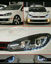 VW Golf R20 GTD A LED DRL FARI MK6 15 LED GTI 2009 completo di kit HID