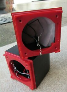 1 Bose Redline Double Cube Empty Cabinet Original Replacement Part No Speakers