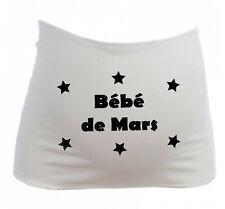 Bandeau Grossesse Maternité Bébé de Mars - Femme Enceinte future maman