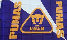 Bandera Pumas UNAM Flag Futbol Soccer 3' X 5' Feet/Pies Liga MX
