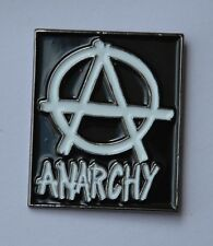 Anarchy Punk Quality Enamel Lapel Pin Badge
