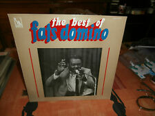 """fats domino""""the best of""""lp12""""or.fr.liberty:slbx340754.languette."""