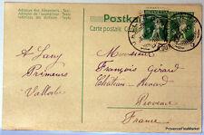 SUISSE  HELVETIA entier postal carte lettre Postale   CA11