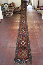 nomades rizbaf yalame très fine PERSAN TAPIS tapis d'Orient 8,88 x 0,82