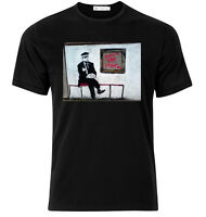 Smash The System Banksy - Graphic Cotton T Shirt Short & Long Sleeve