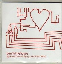 (CQ817) Dan Whitehouse, My Heart Doesn't Age - 2012 DJ CD
