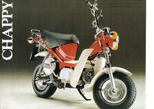 Yamaha Chappy Sales Brochure, 1978 Original