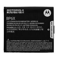 New OEM Motorola BP6X Battery For Cliq 2 XT DROID A855 2 i1 Pro XPRT Milestone