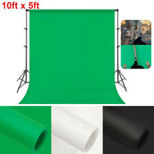10ft x 5ft Photo Studio Photography Backdrop Non-woven Background Screen 3 Color