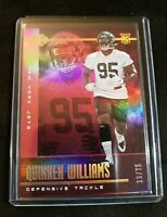 A7 2019 Panini Illusions Trophy Collection Pink /75 Quinnen Williams Rookie RC