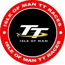 4x4 Spare Wheel Cover 4 x 4 Camper Graphic Vinyl Sticker Isle of Man TT Races