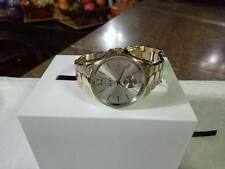 Eldridge Grey Sunray Dial Ladies Gold Tone Watch Item No. NY2517