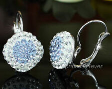 Leverback Crystal Costume Earrings