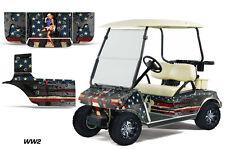 Club Car Golf Cart Graphic Kit Wrap Parts AMR Racing Decal 1983-2014 WW2