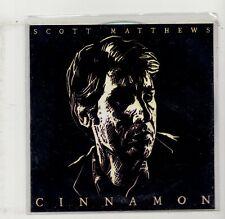 (JL281) Scott Matthews, Cinnamon - 2018 DJ CD