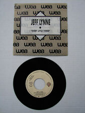 JEFF LYNNE EVERY LITTLE THING RARE PROMO COPY 45 W/SLEEVE 1990 ARMCHAIR THEATRE