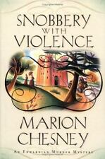 Snobbery with Violence: A Mystery by Beaton, M. C.; Chesney, Marion