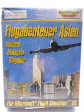 PC Spiel - Flight Simulator: Flugabenteuer Asien (mit OVP)(Bigbox)(NEUWARE)