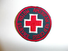 0186 WW 2 US ARC  American Red Cross Motor Service Patch R22A