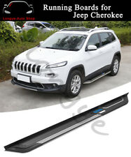 2PCS Running Board fits for Jeep Cherokee 2014-2020 Side Step Nerf Bar