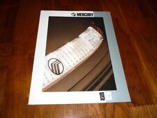 Mercury prospetto complessivo 1993 America MERCURY CAPRI/Sable/Villager/Tracer