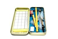 Oxford Compact Maths Geometry Set with Compass Ruler Protractor Squares Sharpene