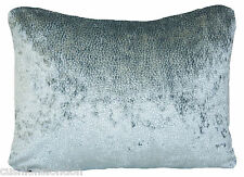 Duck Egg Cushion Cover Velvet Osborne & Little Fabric Addo Sabi Rectangular