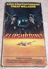 Flashpoint VHS Video Kris Kristofferson Treat Williams