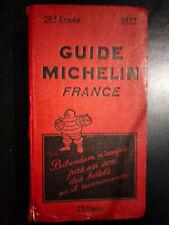 Guide Michelin France 1932 - TB état - 89 ans d'age!!!