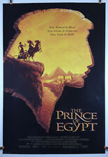The Prince of Egypt (1998) Original Movie Poster 27x40 Rolled, Double-Sided