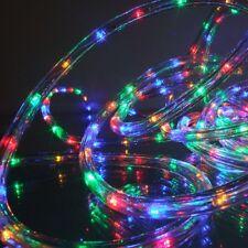 LED Lichtschlauch Lichterschlauch 9m multicolor außen FHS 03647