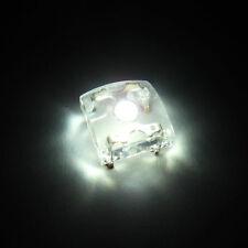 50 pcs Flat Top Piranha Super Flux LED Light Bulb Car Lights 15000 mcd White