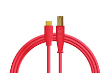 Chroma Cables Audio Optimized USB-C to USB-B Cable Red
