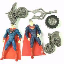 "Lot2Pcs DC Comics Attack Master Super-Man Of Steel Tread 3.75"" Figure toy gift"