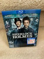 Sherlock Holmes (Blu-ray Disc, 2010) Robert Downey Jr. Jude Law NEW & SEALED