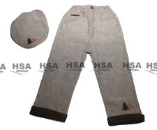 NEW! Baby Boys Tweed look lined trousers and tweed type Flat Cap, Birthday Gift
