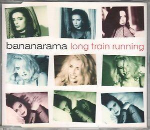 Bananarama  CD-SINGLE  LONG TRAIN RUNNING  (c) 1991