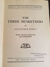 The Three Musketeers By Alexandre Dumas Spencer Press 1937 Immortal Press Series