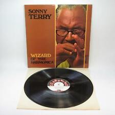 Sonny Terry - Wizard of the Harmonica (1972) Vinyl LP, Storyville [SLP 218] VGC