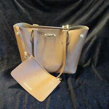 MK MD Snap Leather Ladies Tote Bag Warm Brown Cori NWT