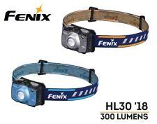 New Fenix HL30 2018 Cree XP-G3 300Lumens, Nichia Red LED Headlight ( Grey )