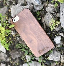 OXSY iPhone 7 Walnut Wood iPhone Slim Case