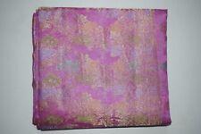 Exotic Purple Pure Tussar Silk Saree Traditional Embroidered Sari Wedding Wear