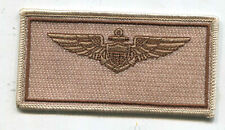 USA Piloten Name Tag Patches Navy Desert (T905)